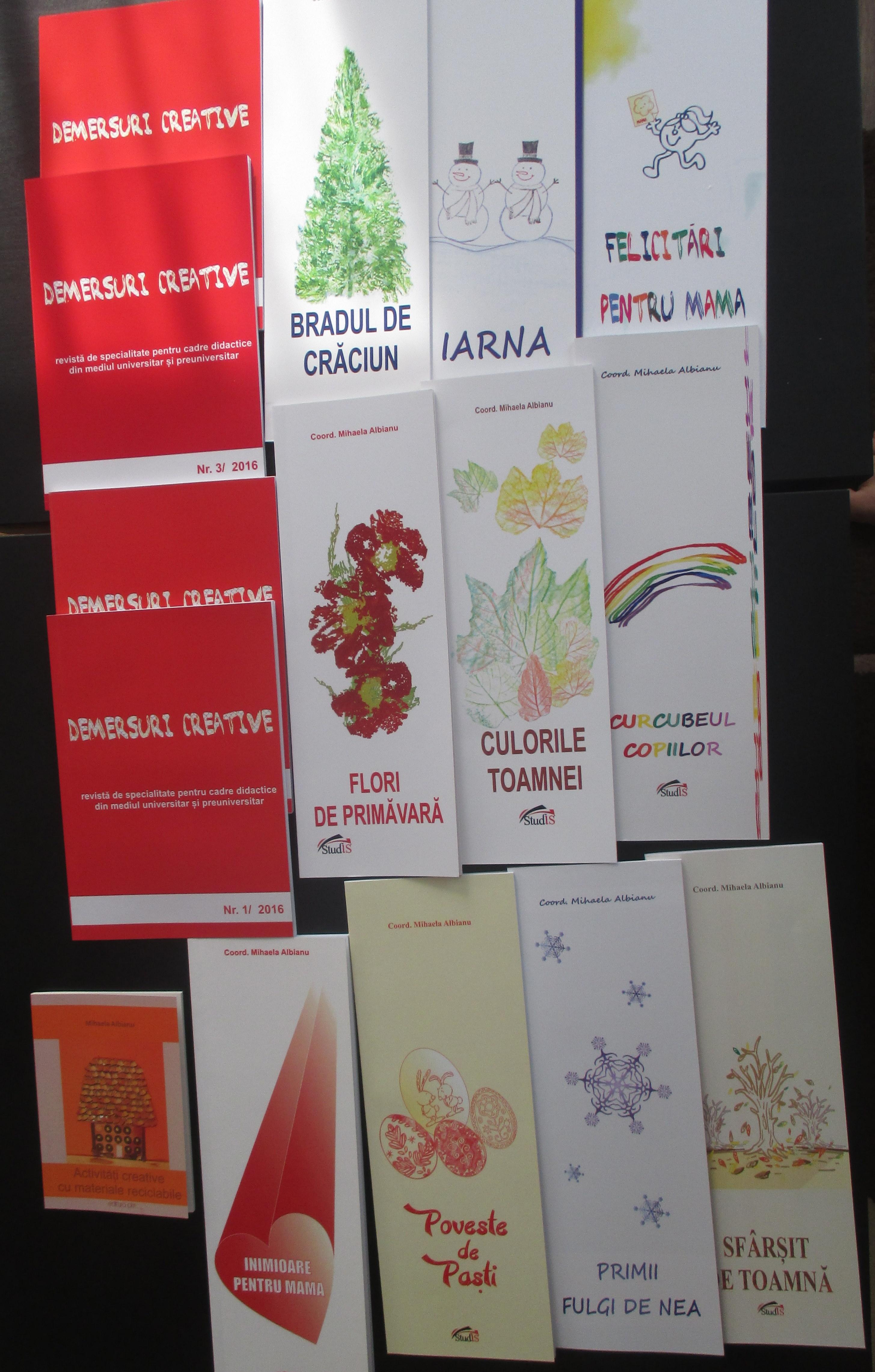 1 carte autor, 10 coordonator și 4 reviste - cartile mele